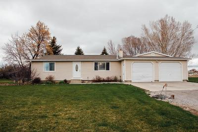 Blackfoot Single Family Home For Sale: 814 Taber Road