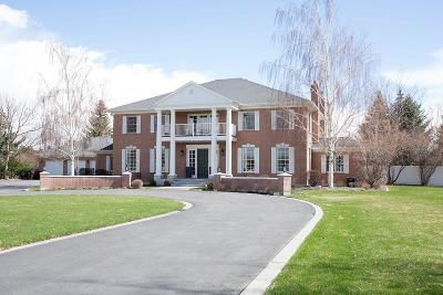 Idaho Falls ID Single Family Home For Sale: $1,050,000
