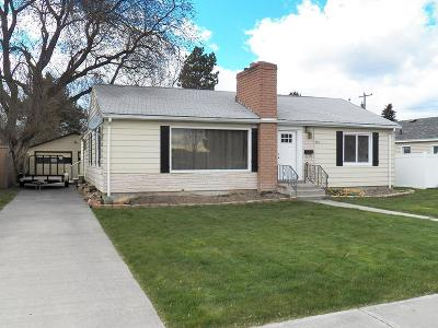 Blackfoot Single Family Home For Sale: 941 S Fisher Avenue