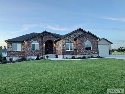 Rigby Single Family Home For Sale: 4027 Calloway Drive