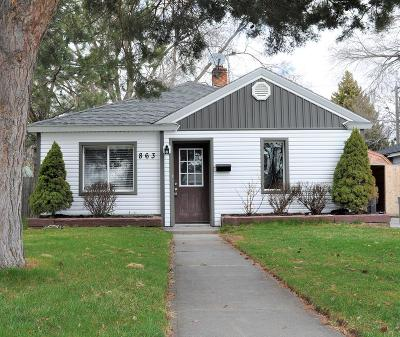 Idaho Falls Single Family Home For Sale: 863 12th Street