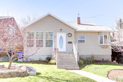 Rexburg Single Family Home For Sale: 124 E 2 S