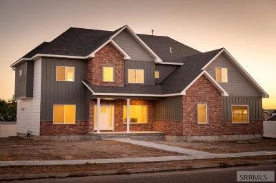 Idaho Falls Single Family Home For Sale: 5021 N Rock Hollow Lane