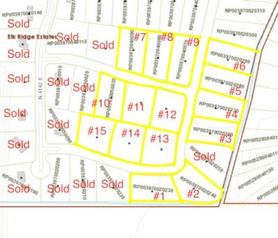 Rigby Residential Lots & Land For Sale: L5 Blk5 4142 E
