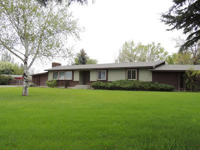 Rexburg Single Family Home For Sale: 2579 W Hwy 33