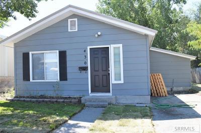 Idaho Falls Single Family Home For Sale: 430 Garfield