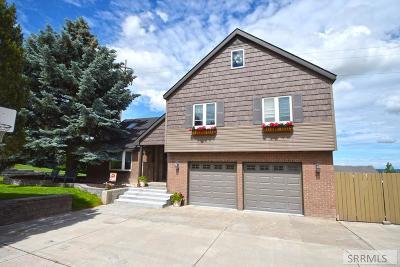 Idaho Falls Single Family Home For Sale: 4825 E Comish Drive