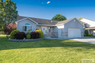 Rigby Single Family Home For Sale: 538 Aspen Drive