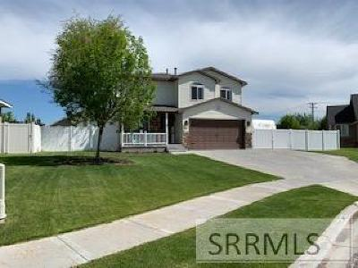 Idaho Falls Single Family Home For Sale: 1063 Oxbow Lane