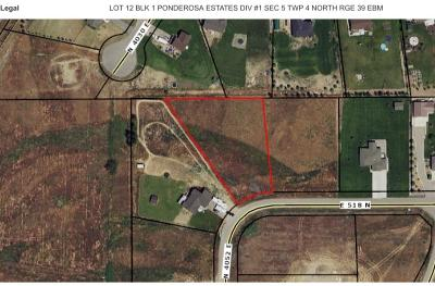 Rigby Residential Lots & Land For Sale: Tbd 518 N
