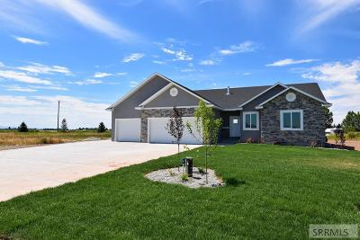 Rigby Single Family Home For Sale: 5 N 3928 E