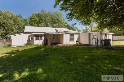 Idaho Falls Single Family Home For Sale: 1042 Blaine Avenue