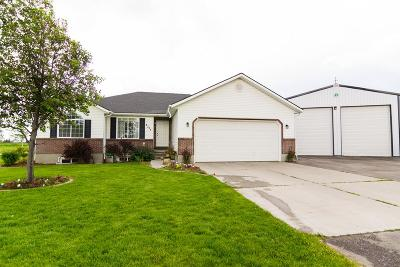 Rigby Single Family Home For Sale: 3724 E 10 N