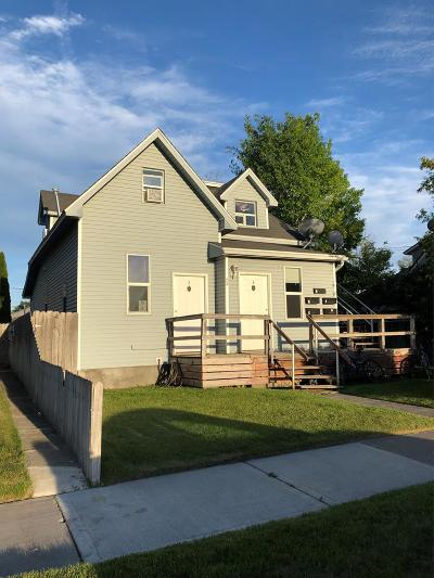 Idaho Falls Multi Family Home For Sale: 644 N Water Avenue