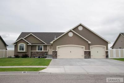 Idaho Falls Single Family Home For Sale: 418 North Point Drive