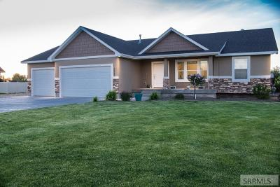 Rigby Single Family Home For Sale: 3983 E 170 N