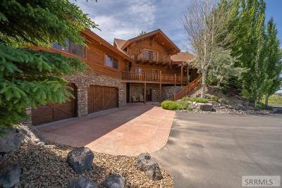 Idaho Falls Single Family Home For Sale: 6032 E Middle Fork Road