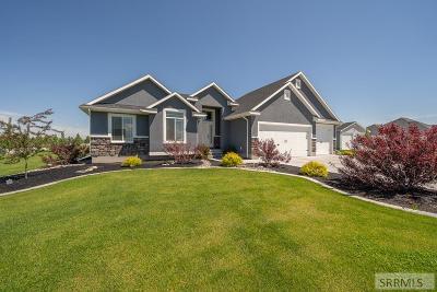Rigby Single Family Home For Sale: 4209 E Blackstone Drive