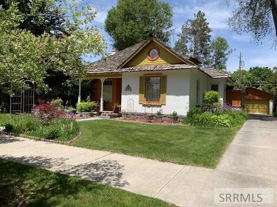 Idaho Falls Single Family Home For Sale: 239 11th Street