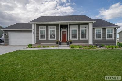 Idaho Falls Single Family Home For Sale: 4134 E Vision Drive