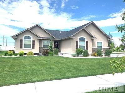 Idaho Falls Single Family Home For Sale: 5498 Truscott Drive