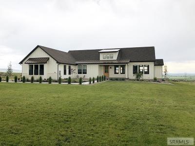 Idaho Falls Single Family Home For Sale: 8828 Black Hawk Drive