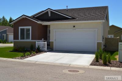 Idaho Falls Single Family Home For Sale: 1177 Saddleback Ridge Court #8