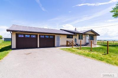 Idaho Falls Single Family Home For Sale: 9428 N 15 E