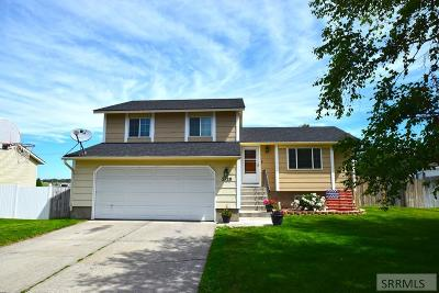 Idaho Falls Single Family Home For Sale: 2120 Calico Drive