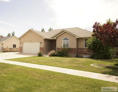 Idaho Falls Single Family Home For Sale: 2821 Tegan Circle