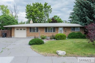 Idaho Falls Single Family Home For Sale: 1292 Riviera Drive
