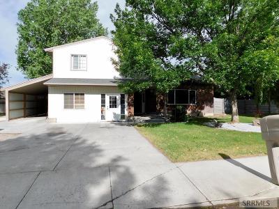 Idaho Falls Single Family Home For Sale: 3330 Handly Avenue