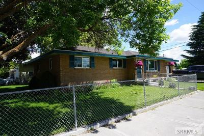 Idaho Falls Single Family Home For Sale: 1343 Tower Street