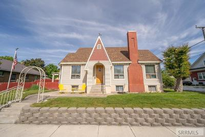 Idaho Falls Single Family Home For Sale: 1245 Canal