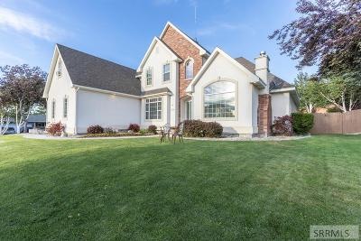 Idaho Falls Single Family Home For Sale: 11255 S Bellerive Drive