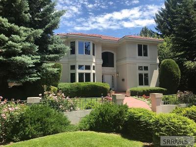 Idaho Falls Single Family Home For Sale: 2695 S Boulevard