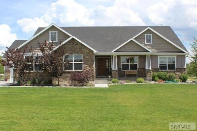 Rigby Single Family Home For Sale: 256 N 4520 E
