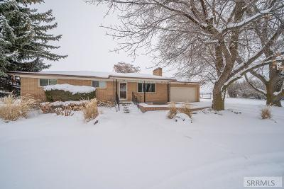 Idaho Falls Single Family Home For Sale: 10612 N 5th E
