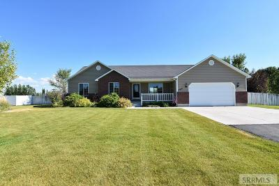 Rigby Single Family Home For Sale: 3910 E 132 N