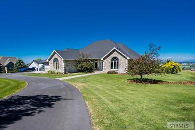 Idaho Falls Single Family Home For Sale: 7392 S Bowman Lane