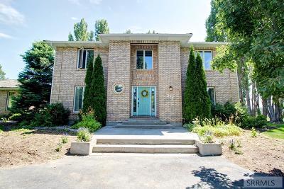 Rexburg Single Family Home For Sale: 123 W 4650 N