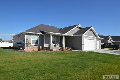 Idaho Falls Single Family Home For Sale: 1250 N Bent Grass Drive