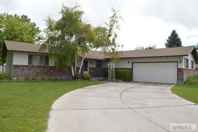 Idaho Falls Single Family Home For Sale: 2965 Springwood Lane