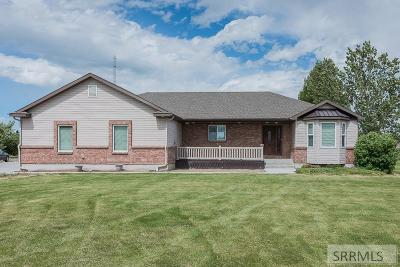 Rigby Single Family Home For Sale: 3939 E 154 N