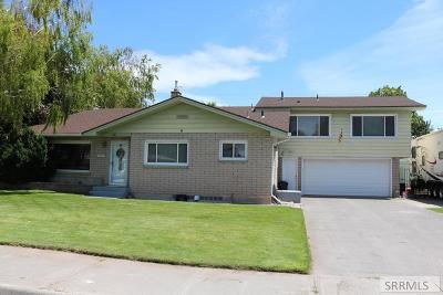 Idaho Falls Single Family Home For Sale: 976 Canyon Avenue