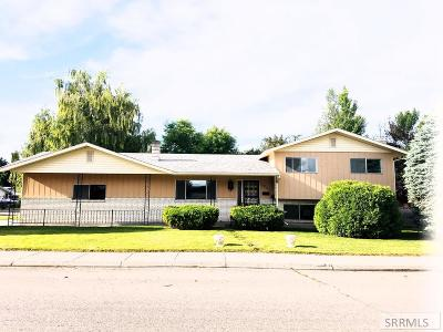 Idaho Falls ID Single Family Home For Sale: $215,000