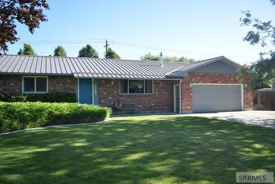Idaho Falls Single Family Home For Sale: 2125 Brandon Drive