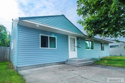 Idaho Falls Single Family Home For Sale: 1165 Cathryn Avenue