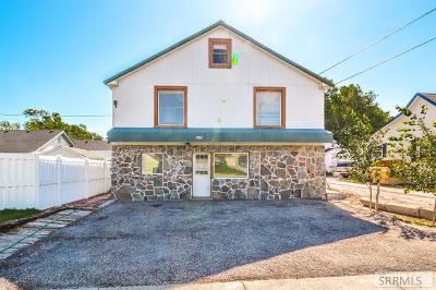 Idaho Falls Single Family Home For Sale: 1647 S Boulevard
