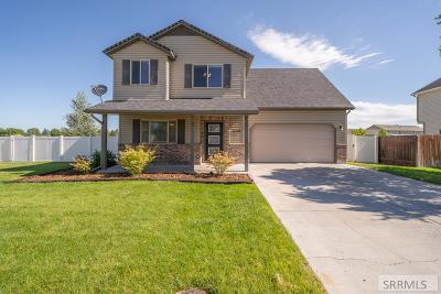 Idaho Falls Single Family Home For Sale: 3709 E Pearce Drive
